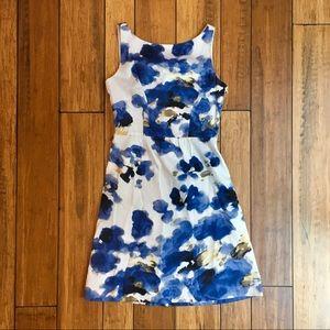 Watercolor Floral Dress - Ann Taylor Petites